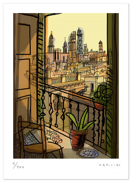 javier mariscal, art reproduction, limited edition, print