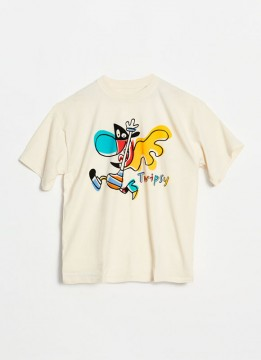 T-shirt Twipsy textile design cotton javier mariscal