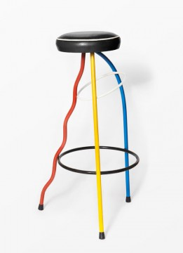 Stool Duplex furniture vintage interior design Javier Mariscal