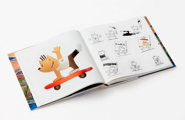 Cobi Barcelona olympicgames_92 pet book illustration drawings editorial art Javier Mariscal