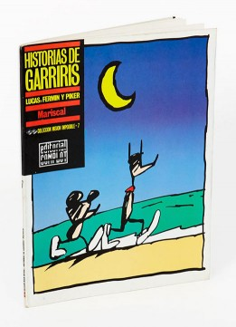 Book Garriris vintage illustration comic editorial javier Marshal